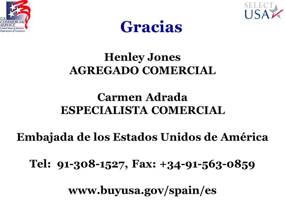 ESPECIALISTA COMERCIAL Embajada de los Estados Unidos de América