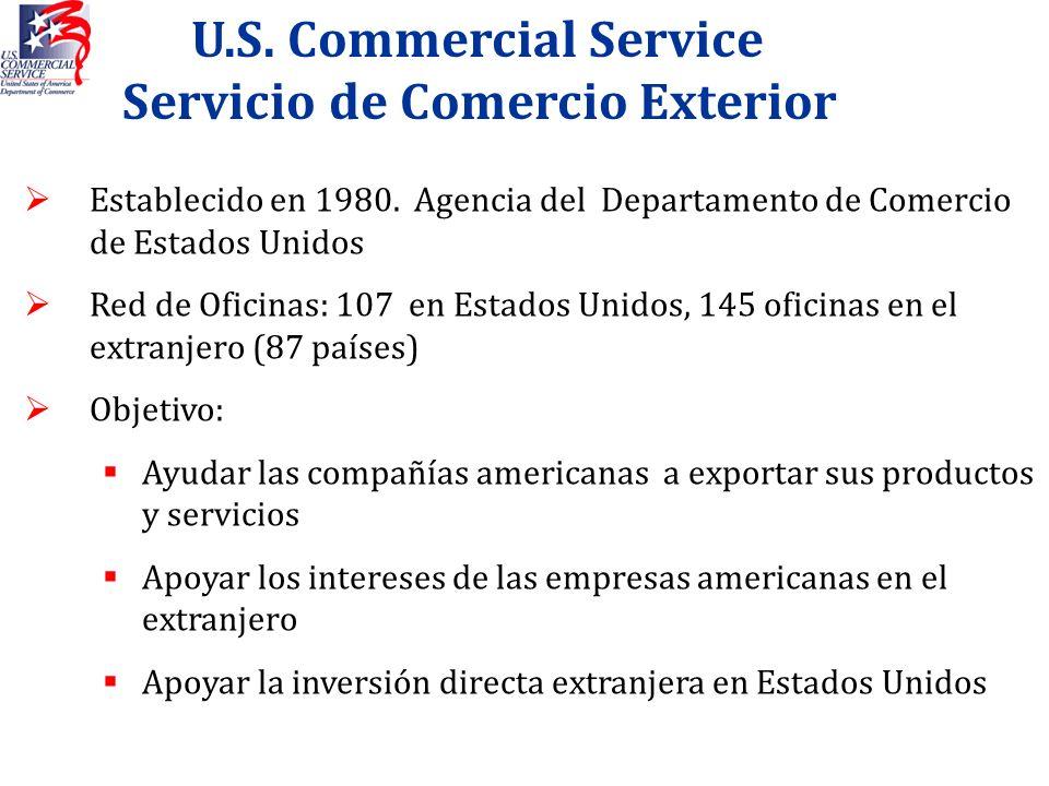 U.S. Commercial Service Servicio de Comercio Exterior