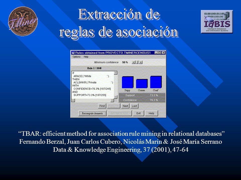 Más información... Fernando Berzal Galiano fberzal@decsai.ugr.es