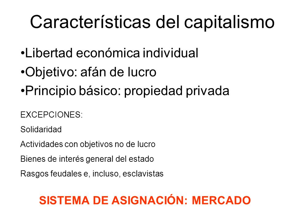Caracter sticas del capitalismo ppt video online descargar for Caracteristicas de los contemporaneos