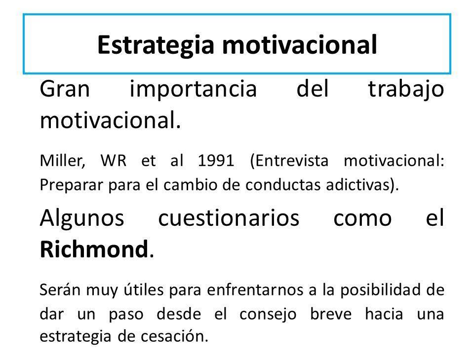 Estrategia motivacional