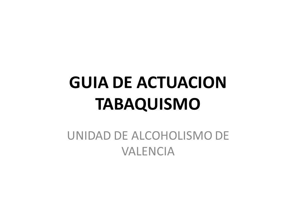 GUIA DE ACTUACION TABAQUISMO