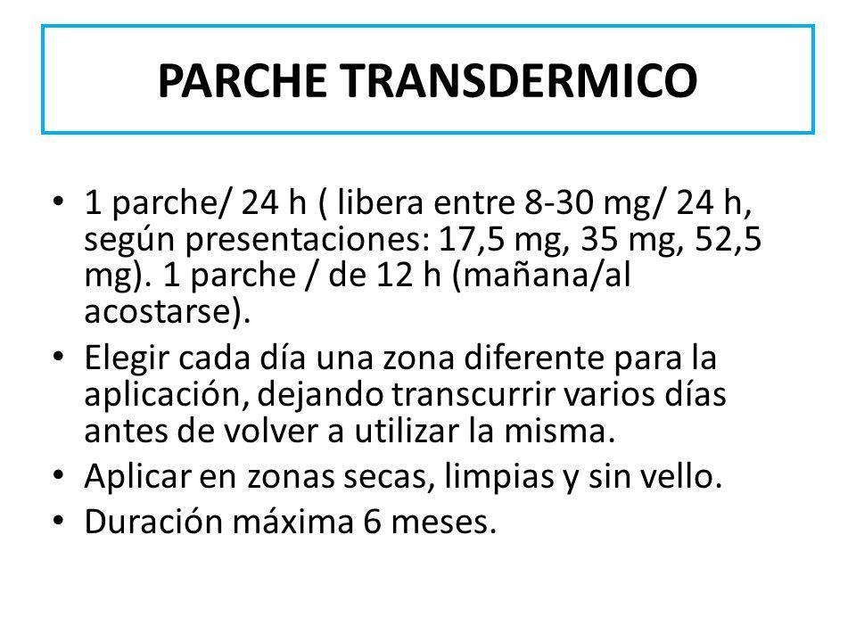 PARCHE TRANSDERMICO