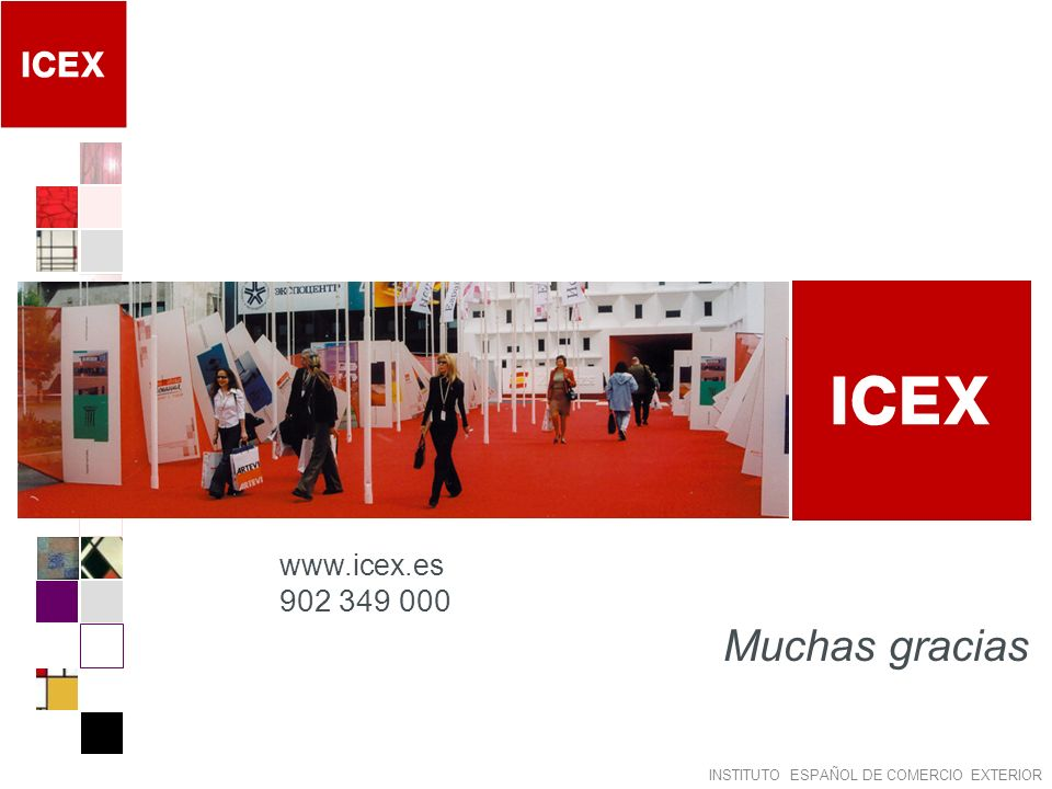 www.icex.es 902 349 000 Muchas gracias