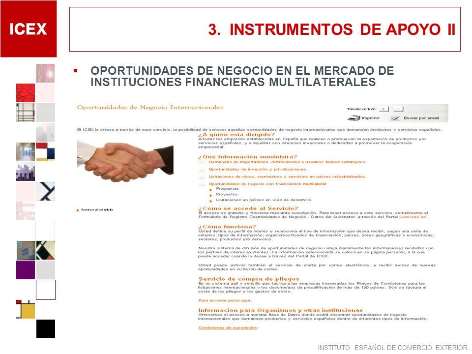 3. INSTRUMENTOS DE APOYO II