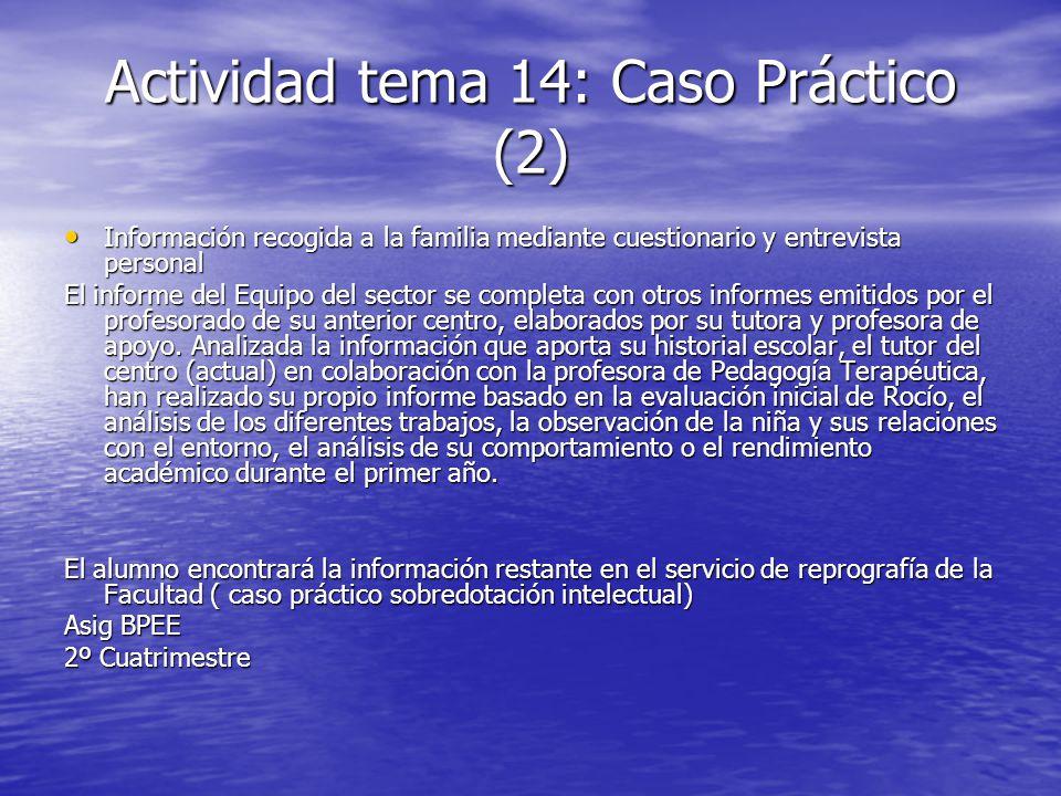 Actividad tema 14: Caso Práctico (2)