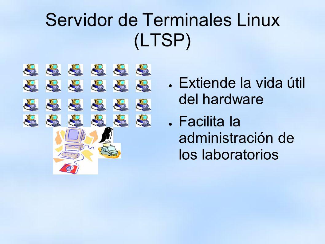 Servidor de Terminales Linux (LTSP)