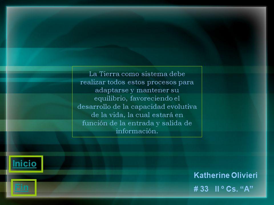 Inicio Fin Katherine Olivieri # 33 II º Cs. A