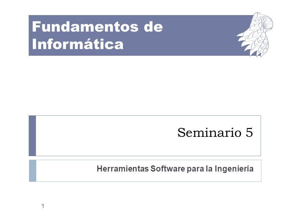 Herramientas Software para la Ingeniería