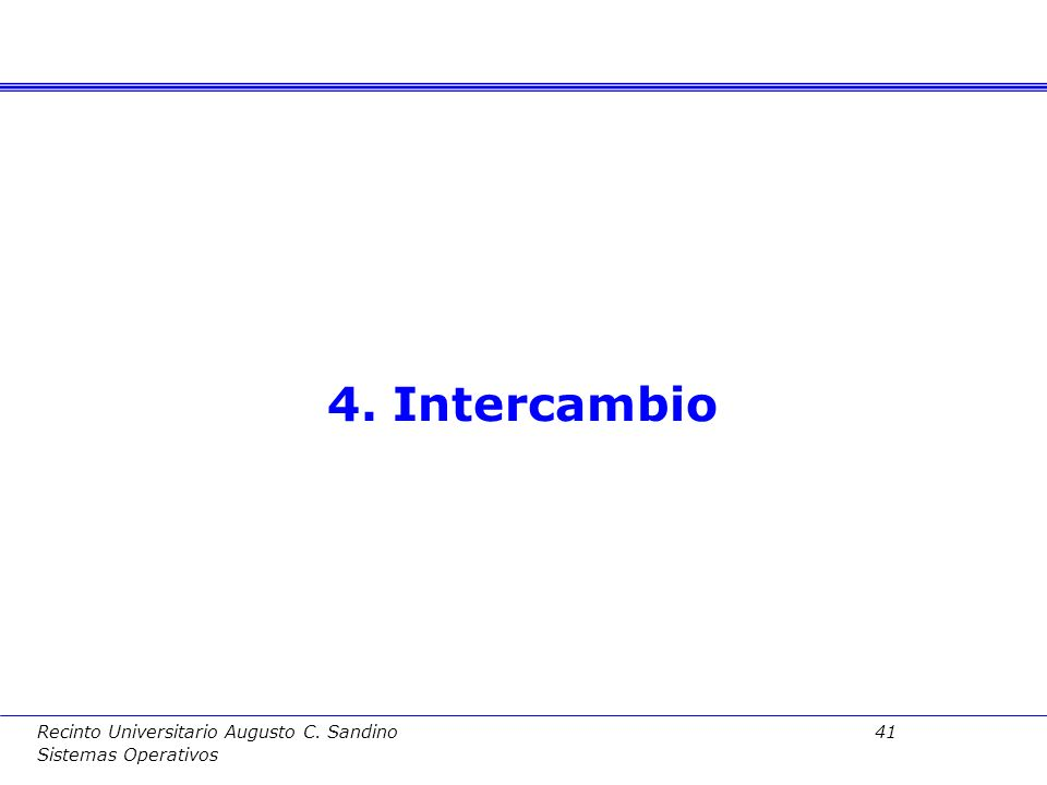 4. Intercambio Fundamentos de Computadores II