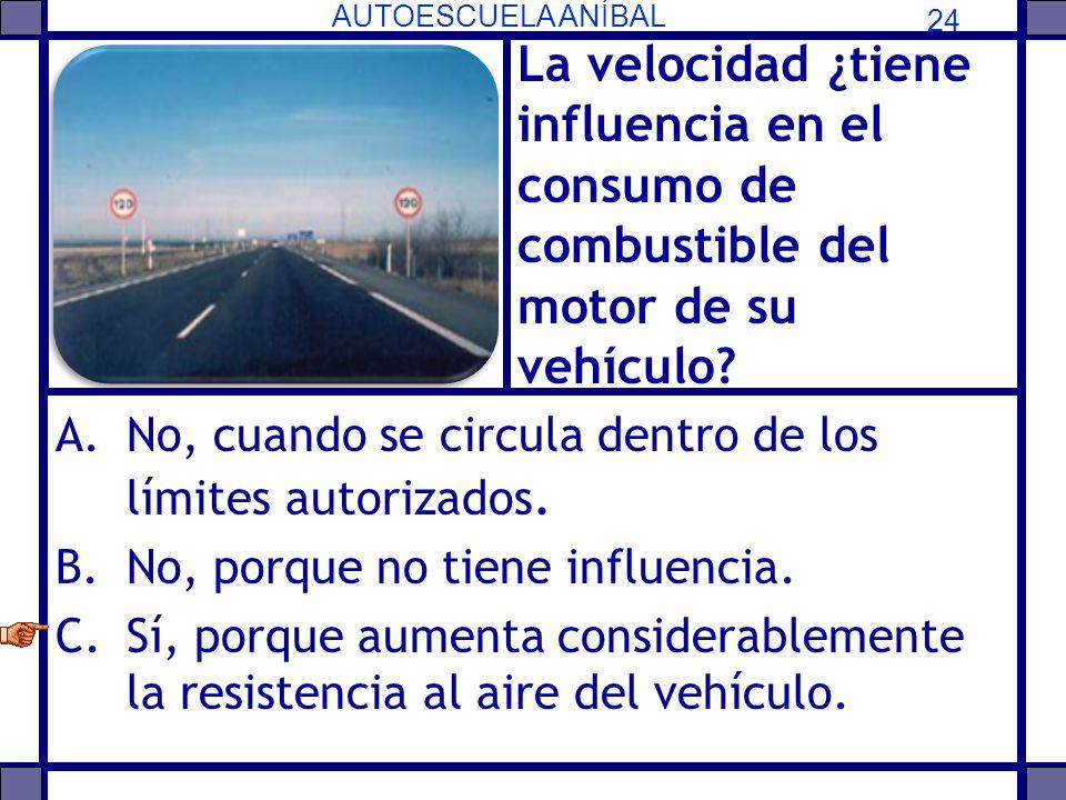 La velocidad ¿tiene influencia en el consumo de combustible del motor de su vehículo