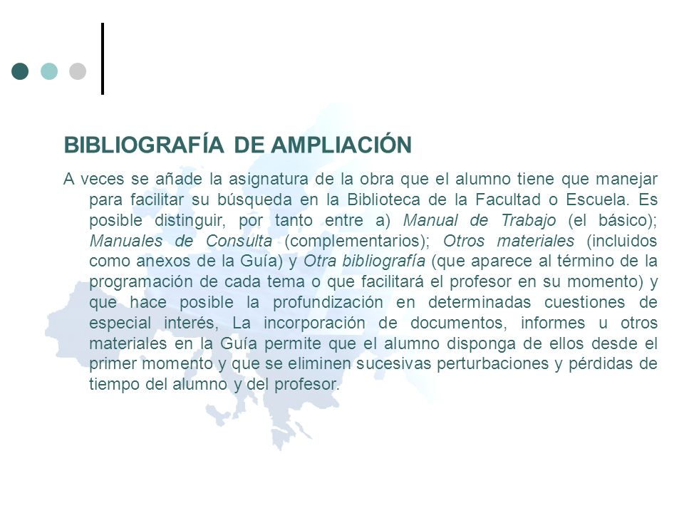 BIBLIOGRAFÍA DE AMPLIACIÓN