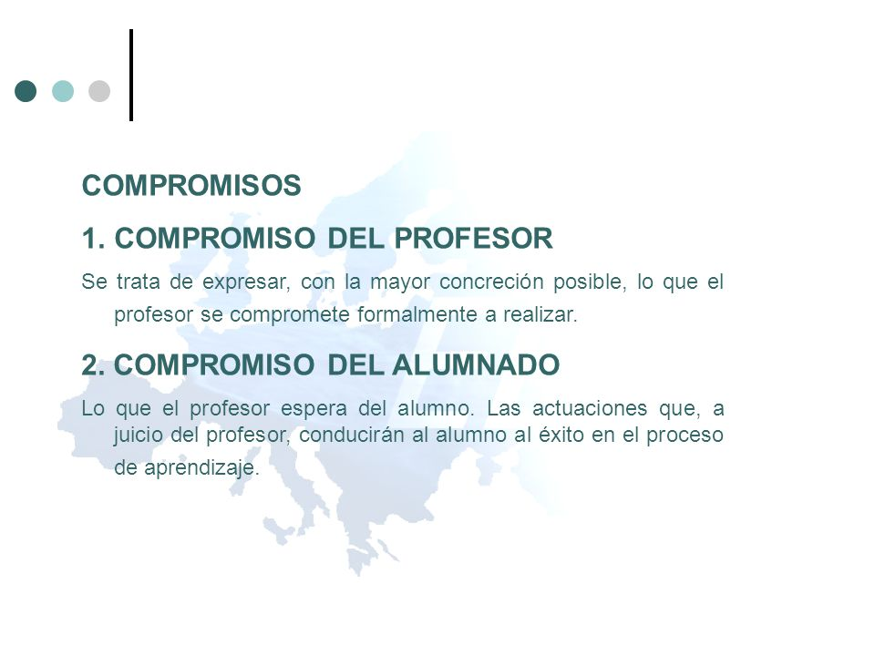 COMPROMISO DEL PROFESOR