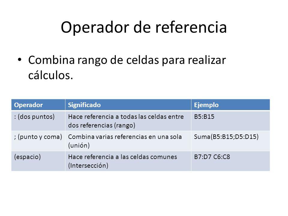 Operador de referencia
