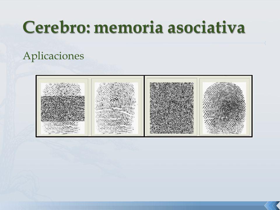 Cerebro: memoria asociativa