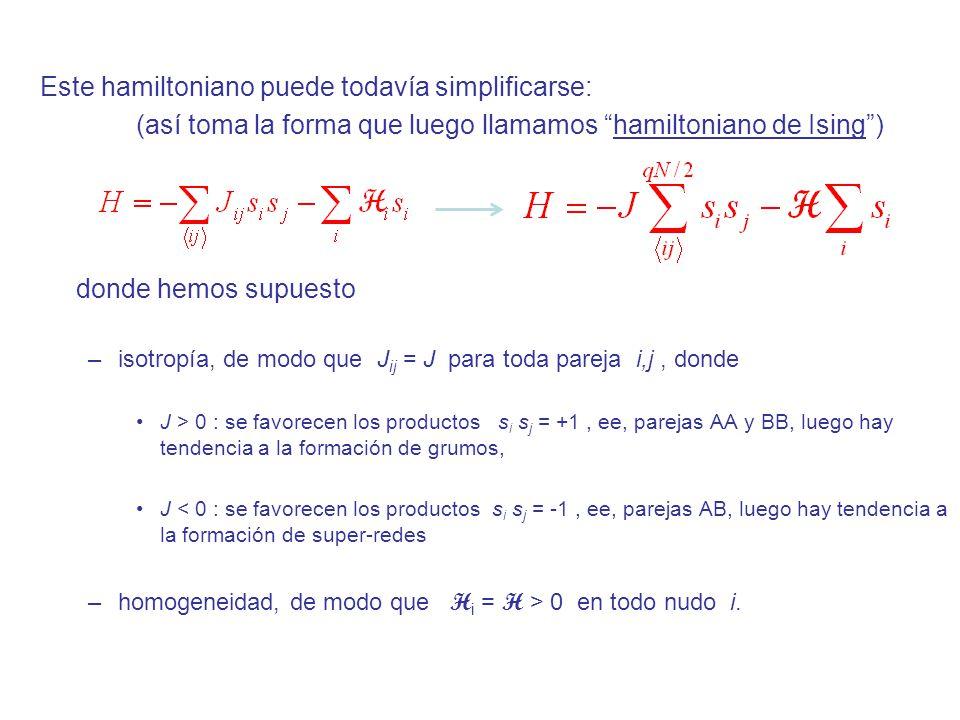 Este hamiltoniano puede todavía simplificarse: