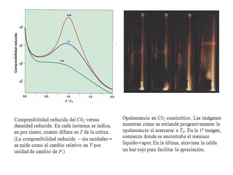 Opalescencia en C02 cuasicrítico