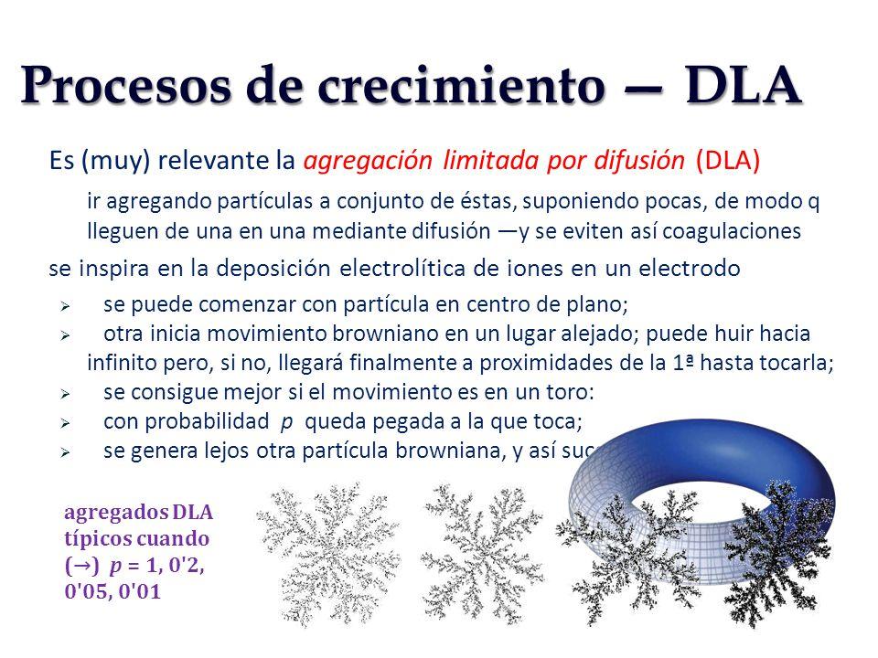 Procesos de crecimiento — DLA