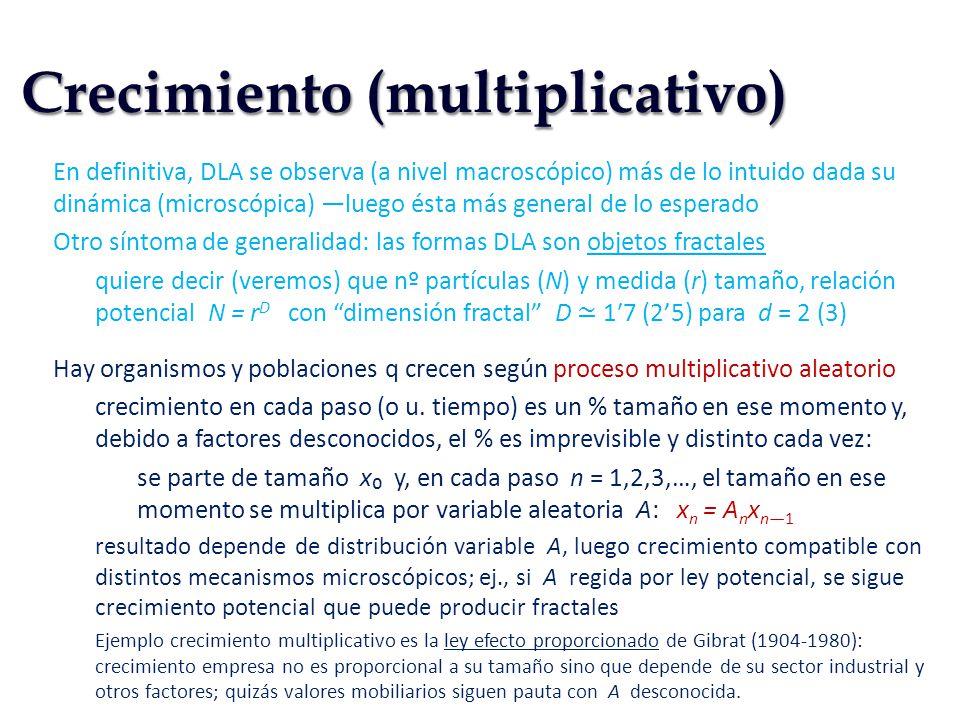 Crecimiento (multiplicativo)