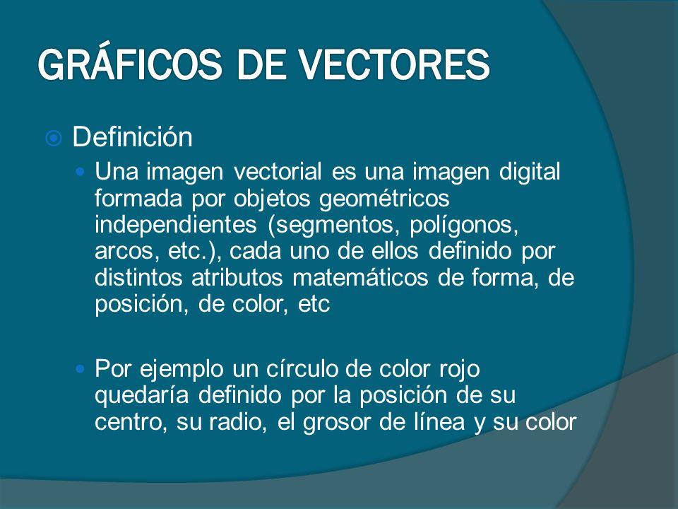 GRÁFICOS DE VECTORES Definición