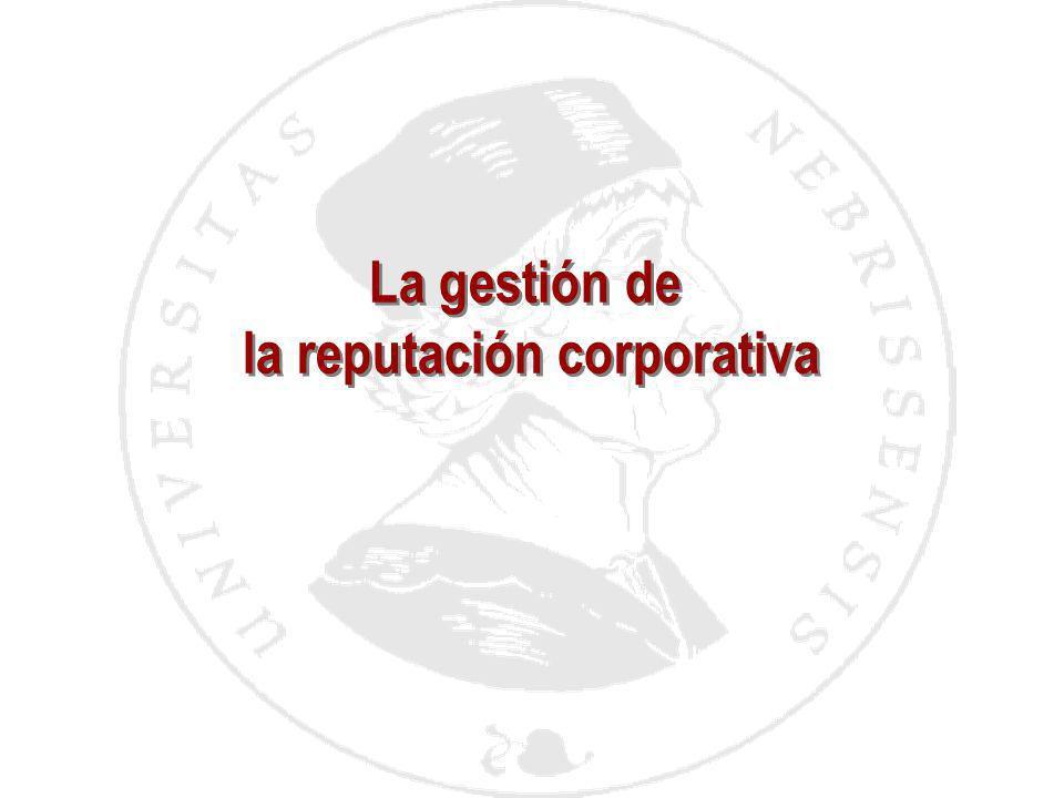 la reputación corporativa