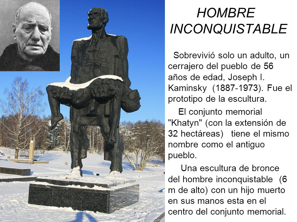 HOMBRE IN INCONQUISTABLE