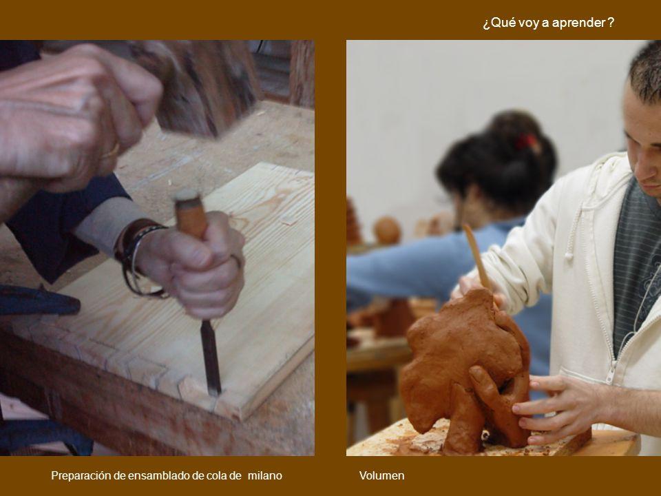 ¿Qué voy a aprender Preparación de ensamblado de cola de milano