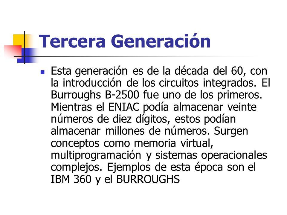 Tercera Generación