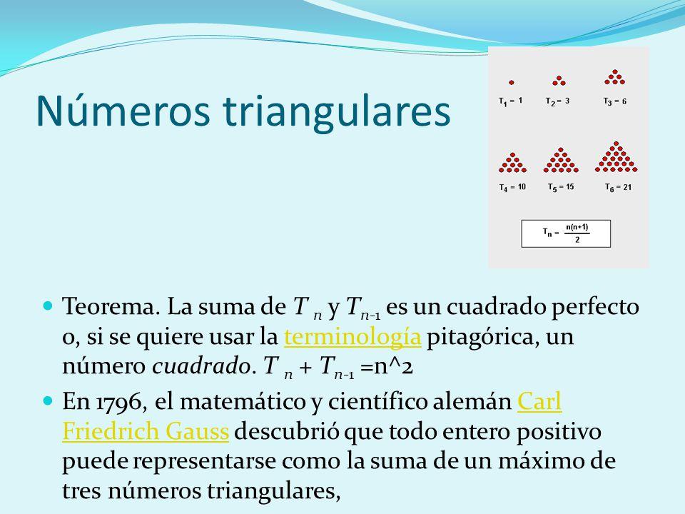 Números triangulares