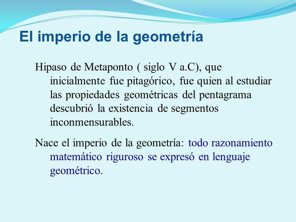 El imperio de la geometría