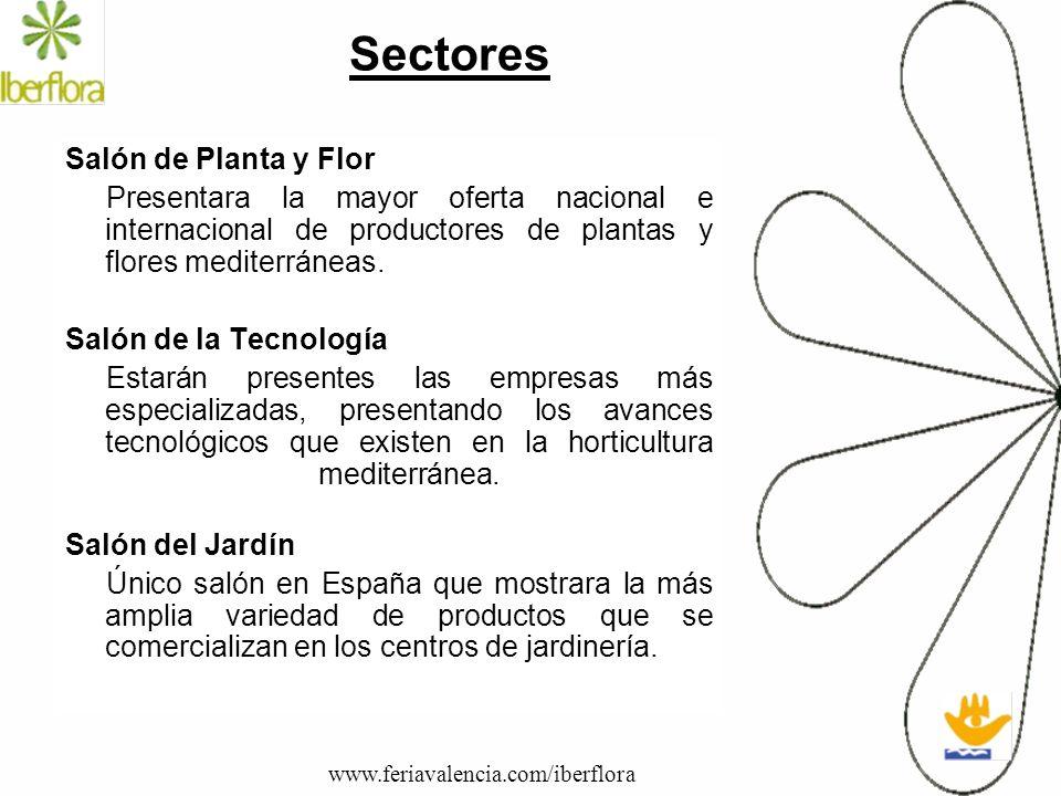 Sectores Salón de Planta y Flor
