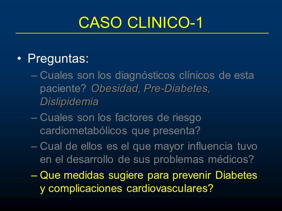 CASO CLINICO-1 Preguntas: