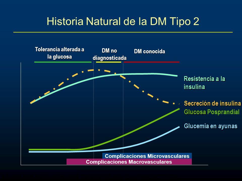Historia Natural de la DM Tipo 2