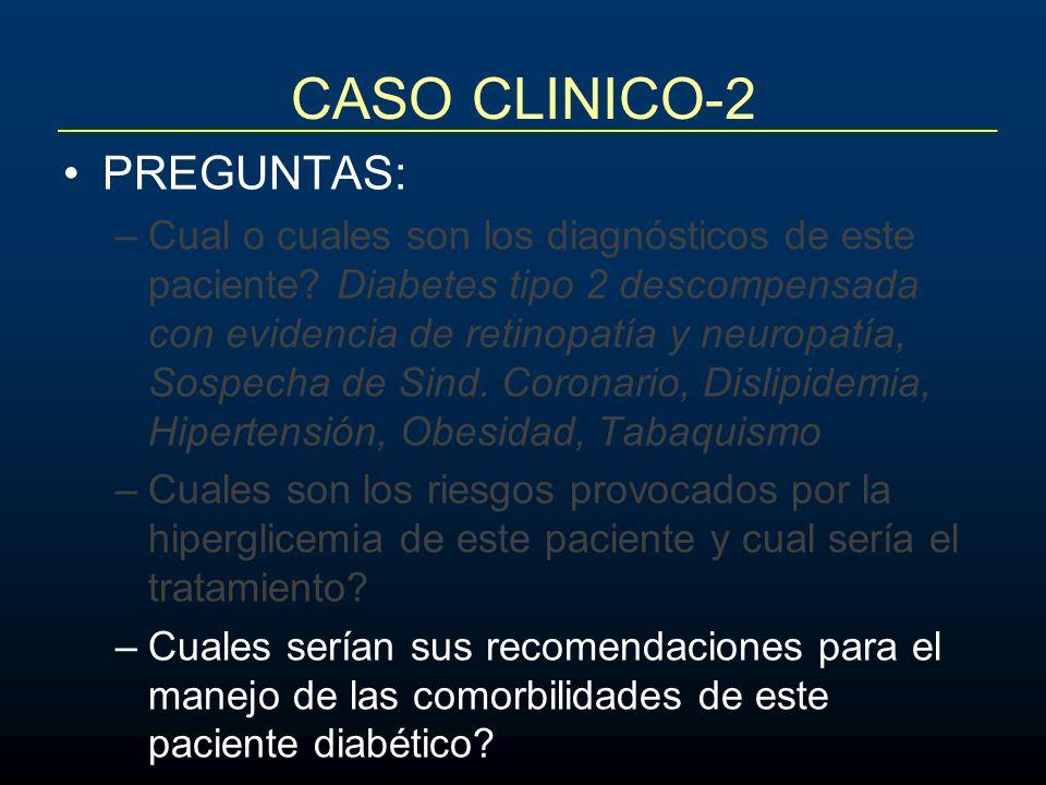CASO CLINICO-2 PREGUNTAS: