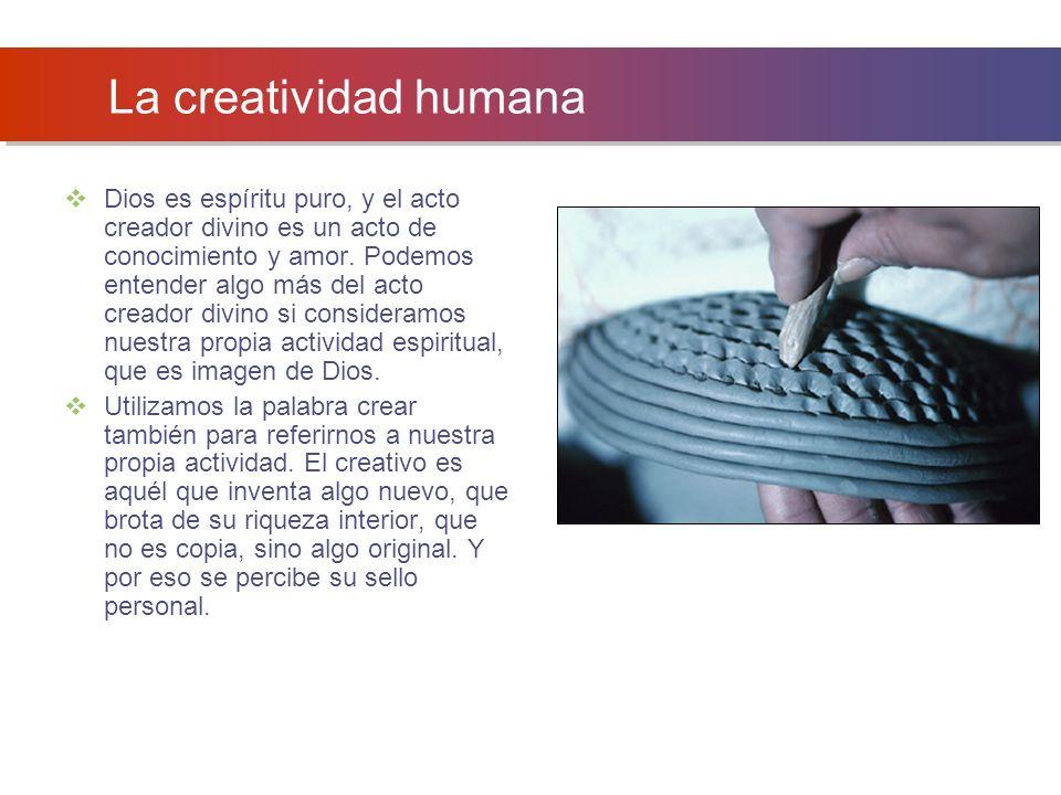 La creatividad humana