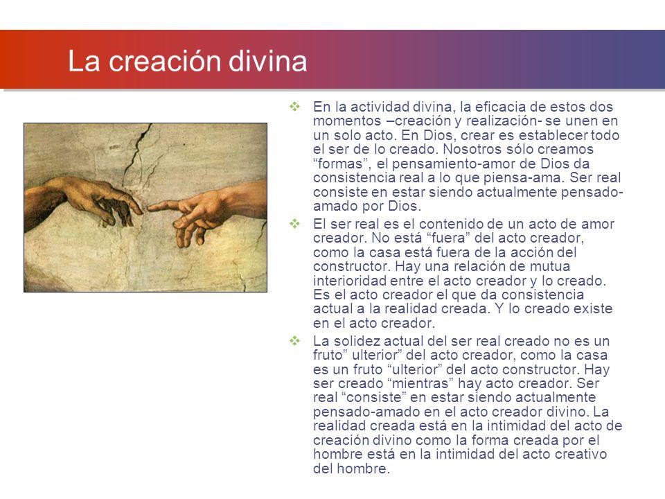 La creación divina