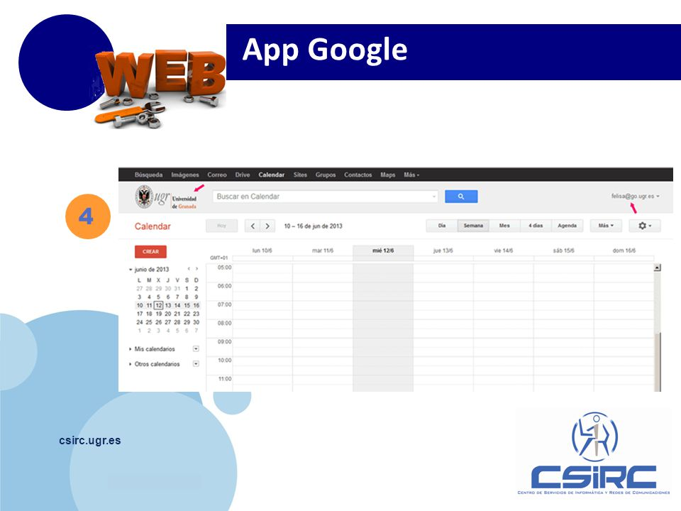 App Google 4 csirc.ugr.es