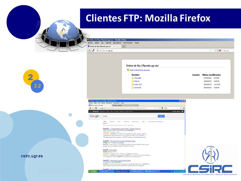 Clientes FTP: Mozilla Firefox