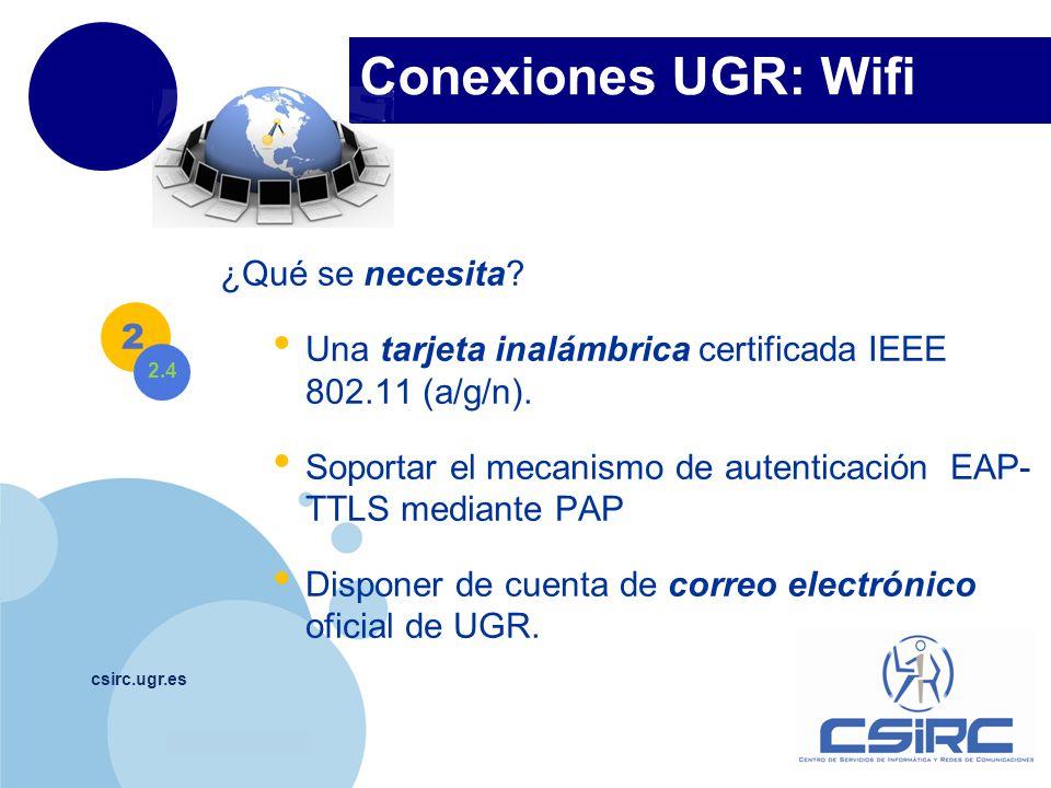 Conexiones UGR: Wifi ¿Qué se necesita