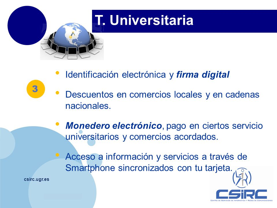 T. Universitaria Identificación electrónica y firma digital
