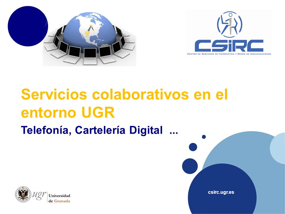 Servicios colaborativos en el entorno UGR