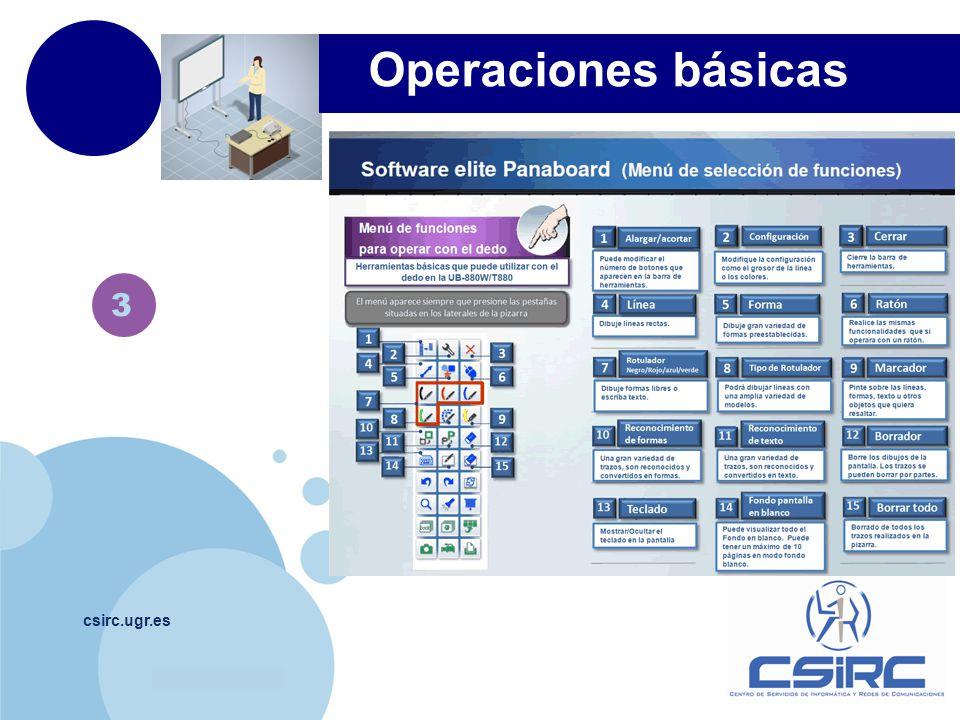 Operaciones básicas 3 csirc.ugr.es