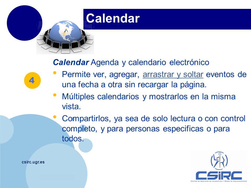 Calendar Calendar Agenda y calendario electrónico