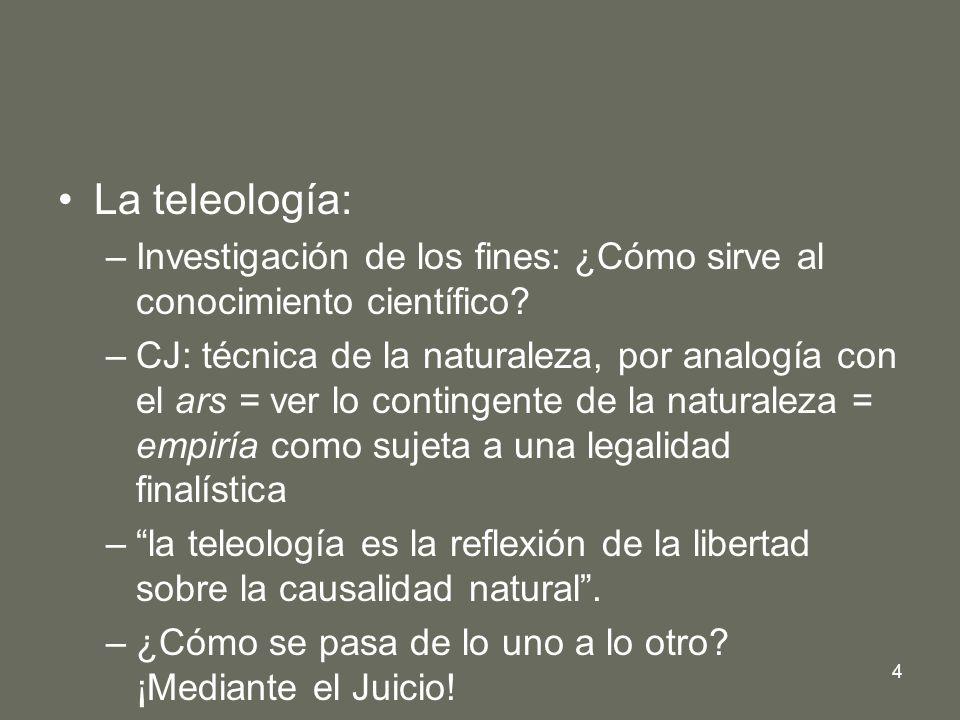 La teleología: Investigación de los fines: ¿Cómo sirve al conocimiento científico