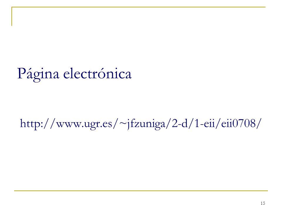 Página electrónica http://www.ugr.es/~jfzuniga/2-d/1-eii/eii0708/