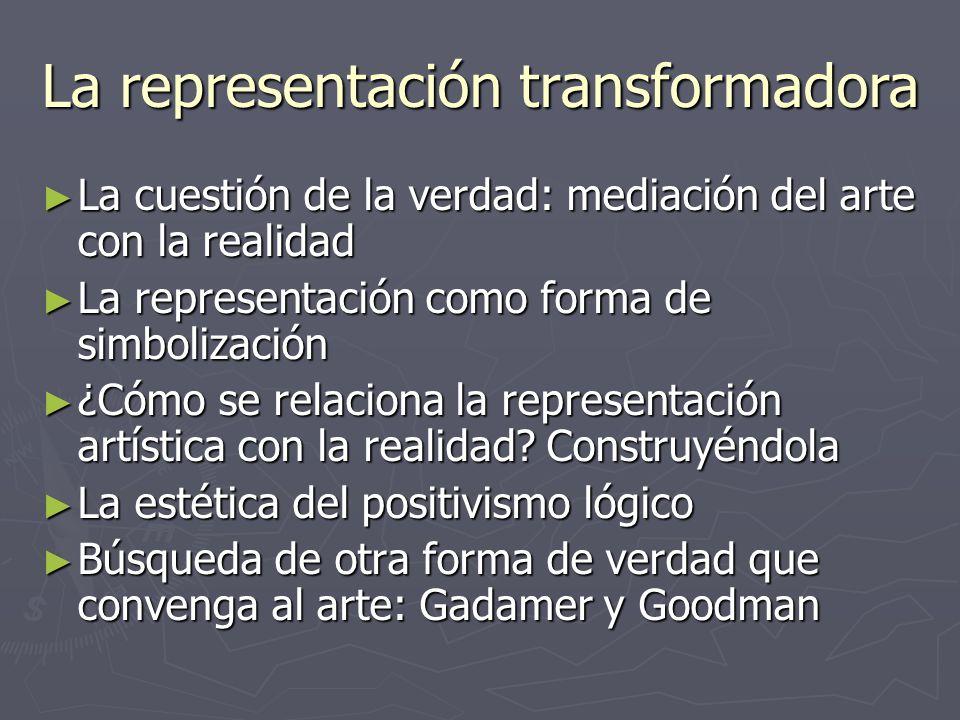 La representación transformadora
