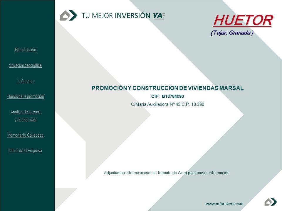 PROMOCIÓN Y CONSTRUCCION DE VIVIENDAS MARSAL