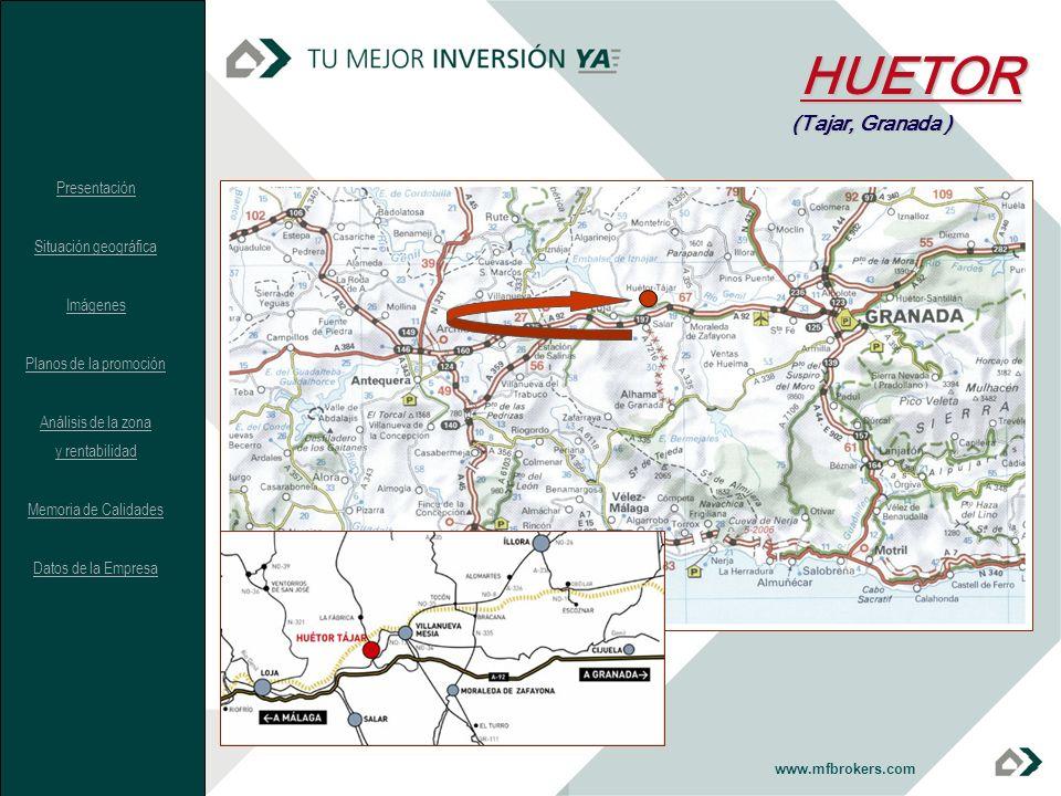 HUETOR (Tajar, Granada ) Presentación Situación geográfica Imágenes