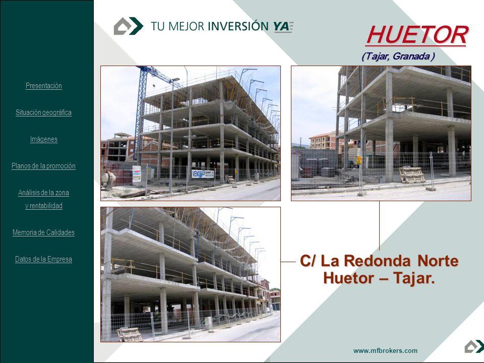 HUETOR C/ La Redonda Norte Huetor – Tajar. (Tajar, Granada )
