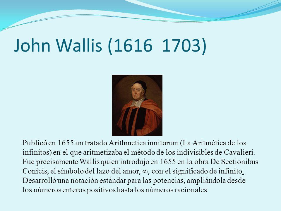 John Wallis (1616 1703)